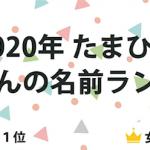『2020年 たまひよ 赤ちゃんの名前ランキング』発表 1位は、男の子「蓮」3年連続 女の子「陽葵」5年連続 急上昇した名前は…