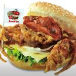 【カニ1匹】ドムドムハンバーガー、斬新で豪快なビジュアルが話題の『丸ごと!!カニバーガー』販売開始 早くも完売続出のもよう