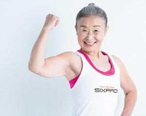 【激レアさん】日本最高齢フィットネス・インストラクター、タキミカさん(90)が「SIXPAD HOME GYM」のインストラクターに就任