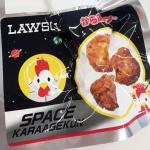 からあげクン、宇宙へ! ローソン『スペースからあげクン』が宇宙日本食に認証されたことを発表